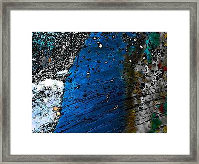 Blue Spectacular Framed Print