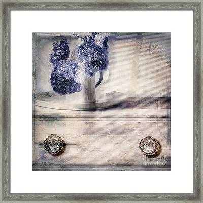 Blue Sunday Framed Print by Mindy Sommers