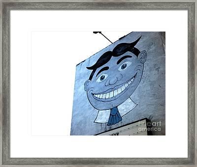 Blue Tillie Framed Print by John Rizzuto