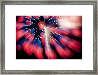 Blue To Red K865 Framed Print by Yoshiki Nakamura