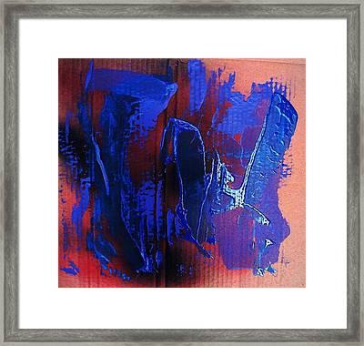 Blue Tornado Framed Print by Bruce Combs - REACH BEYOND