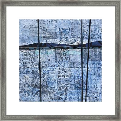 Blue Trees #1 Framed Print