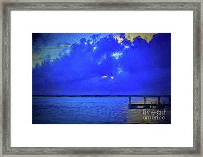 Blue Twilight Framed Print by Dave Bosse