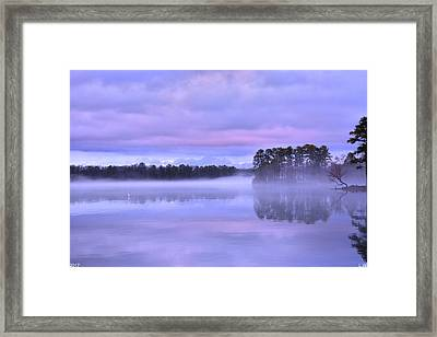 Blue Twilight Framed Print