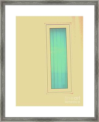 Framed Print featuring the photograph Blue  by Vanessa Palomino