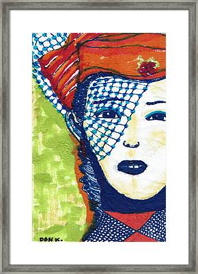 Blue Veil Framed Print by Don Koester