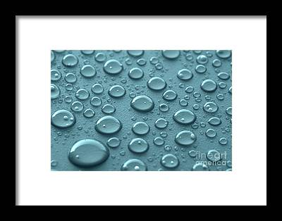 Drops Framed Prints