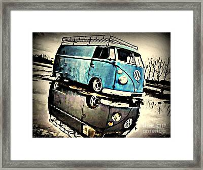 Blue Water Framed Print by S Poulton