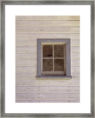 Blue Window Framed Print by JAMART Photography