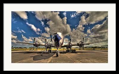 Golden Age Of Flight Framed Prints