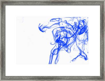 Blue1 Framed Print by Rainer Kersten