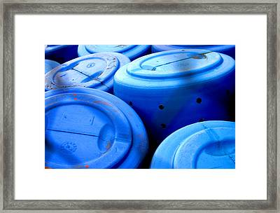 Bluebarreled Framed Print by Jez C Self