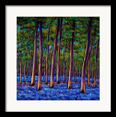 Forest Paintings Framed Prints