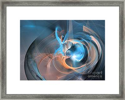 Blueberry Soul Framed Print