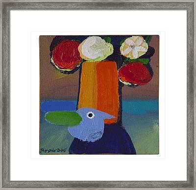 Bluebird Framed Print by Rogerio Dias