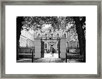 bluecoat chambers former school Liverpool Merseyside UK Framed Print by Joe Fox