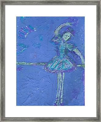 Bluedream Framed Print by Anne-Elizabeth Whiteway