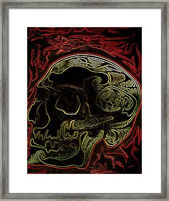 Blueprint Framed Print by Jeff DOttavio