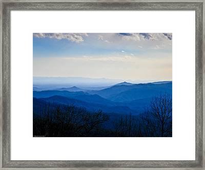 Blueridge Framed Print