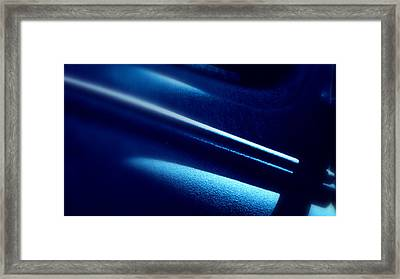 Framed Print featuring the photograph Blues.. by Al Swasey