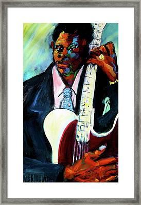 Blues Boy Framed Print