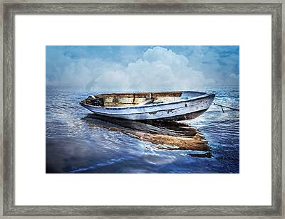 Blues Framed Print by Debra and Dave Vanderlaan