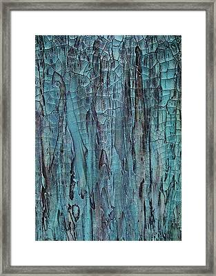 Blues In Motion Framed Print