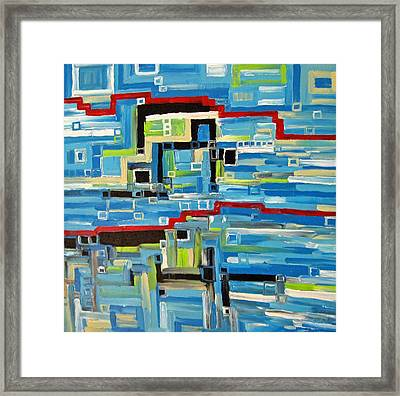 Blues Framed Print by Katerina Wagner