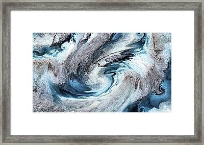 Framed Print featuring the photograph Blues by Kristin Elmquist