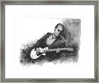 Blues Man Joe B. Framed Print