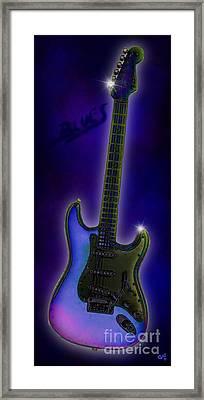 Framed Print featuring the digital art Blues  by Nick Gustafson
