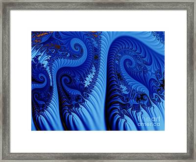 Blues Framed Print by Ron Bissett