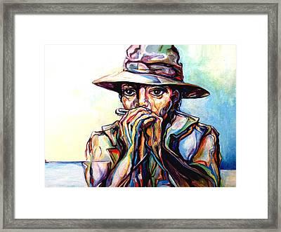 Blues Traveler  Framed Print by Lloyd DeBerry