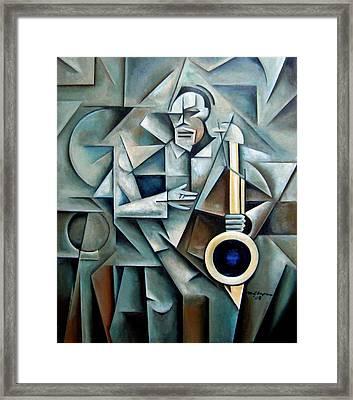 Bluesnik Framed Print by Martel Chapman