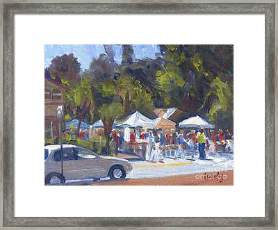Bluffton Art Fair Framed Print