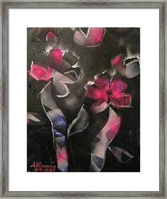Blumen Aus Berlin Framed Print by Andrea Noel Kroenig