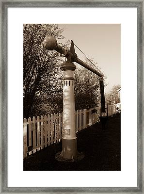 Blunsdon Station At Swindon And Cricklade Railway Framed Print