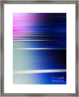 Blur 29 Framed Print by Horacio Martinez