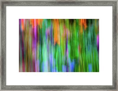 Blurred #1 Framed Print