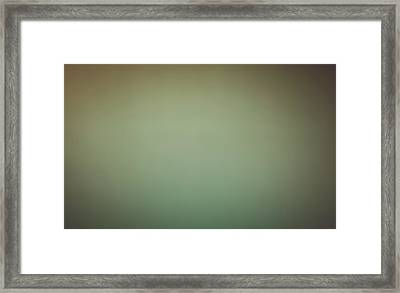 Blurred Abstract Yellow And Brown Background Framed Print by Brandon Bourdages