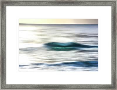 Blurred Beauty Framed Print