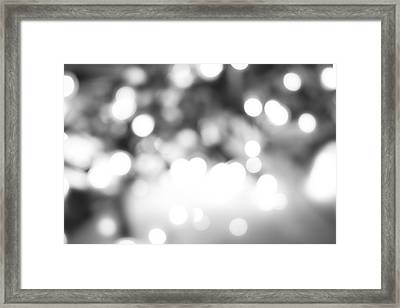 Blurry Abstract Framed Print by Les Cunliffe