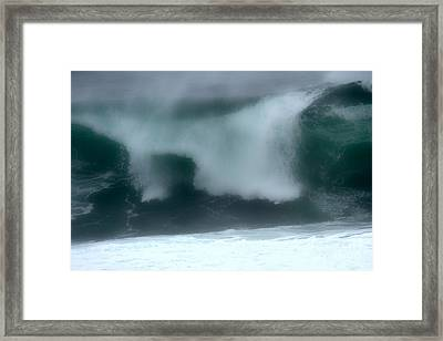Blurry Crash Framed Print by Adam Jewell