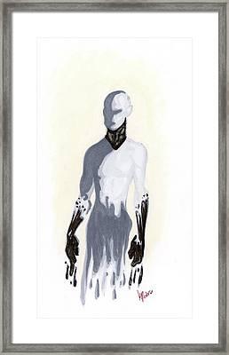 #blurryface Framed Print by Krista Payne