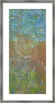 Blusey Framed Print by Hannah Lasky