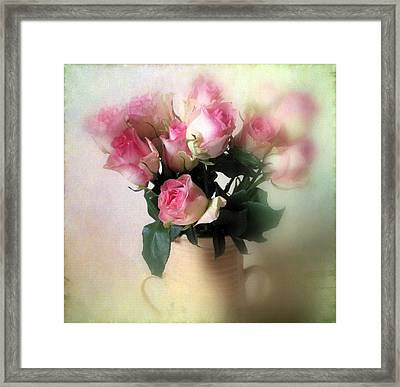 Blush Framed Print by Jessica Jenney