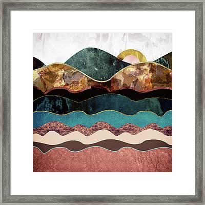 Blush Moon Framed Print by Katherine Smit