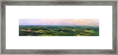 Blushing Sky II Framed Print by Jon Glaser