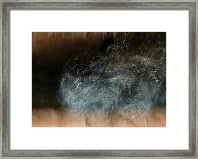 Framed Print featuring the photograph Bluster Of Blues by Deborah Hughes