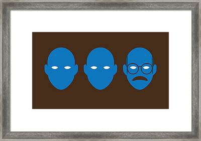 Bluth Man Group Framed Print